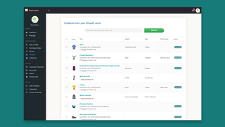 Assign products to vendors