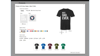 Create like crazy! Add your designs, and we'll do the rest