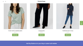 Add Buy Buttons to to your blog or custom built website