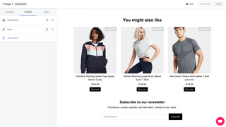 Build beautiful landing pages with a flexible editor