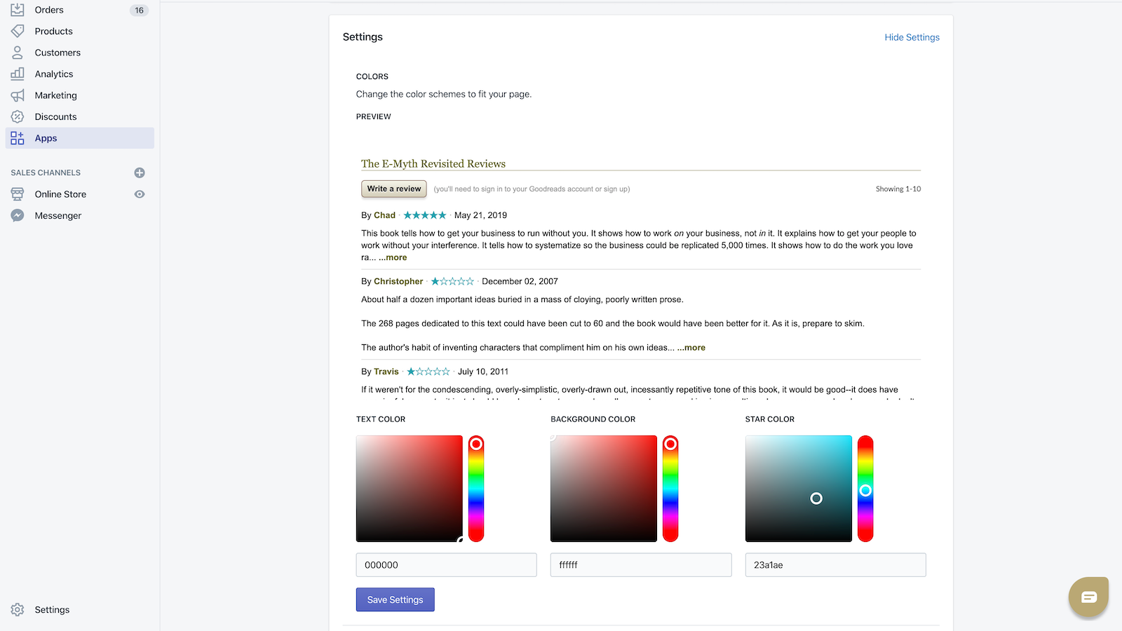 Adjust colors to fit seamlessly to your site.