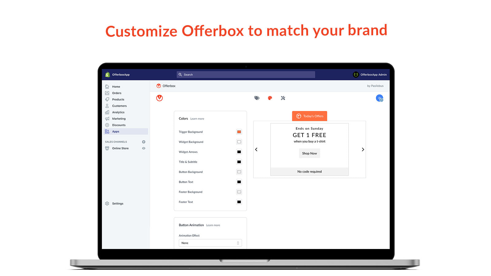 offerbox for shopify