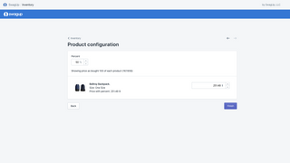 SwagUp - Shopify App Product Confirmation Page