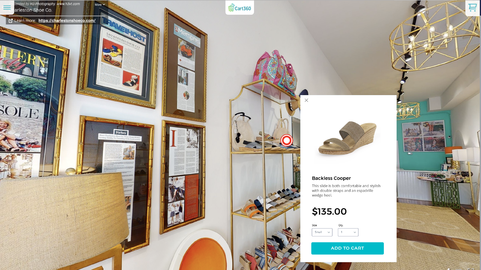 Customers Can Now Click To Buy From Your Immersive Store.