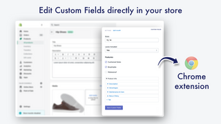 Edit Custom Fields directly in Shopify