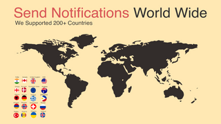 World Wide SMS Notification & Whatsapp Notifcations