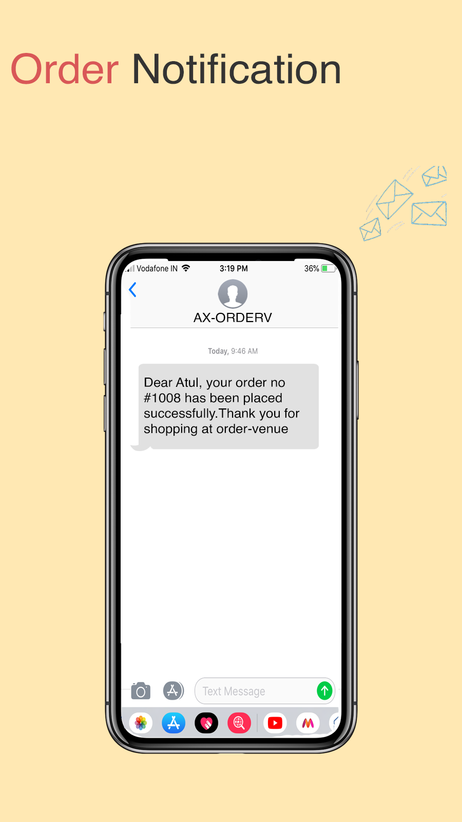 SMS Order Notifications