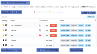 Brand Page - Custom Images