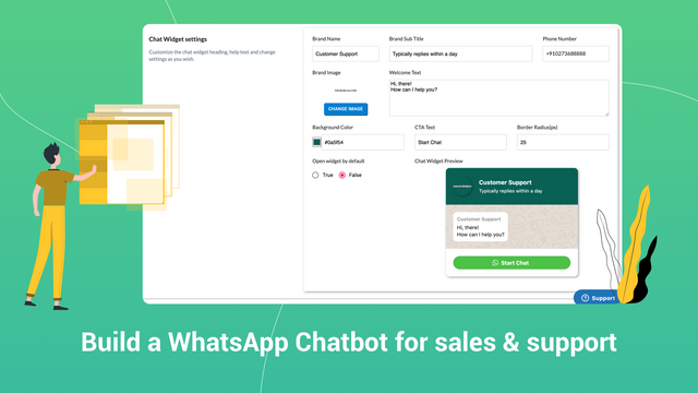 WhatsApp Chatbot to auto-reply to customers