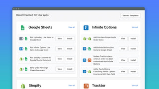 Use our pre-built workflow templates for everyday tasks