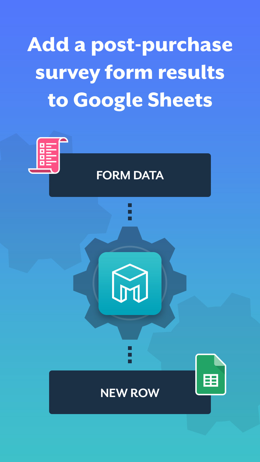 Add a Post-Purchase Survey Form and Send Results to Google Sheet