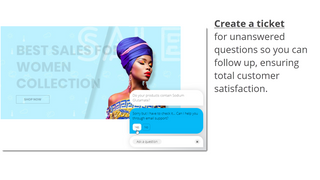 Create tickets for unanswered questions so you may follow up