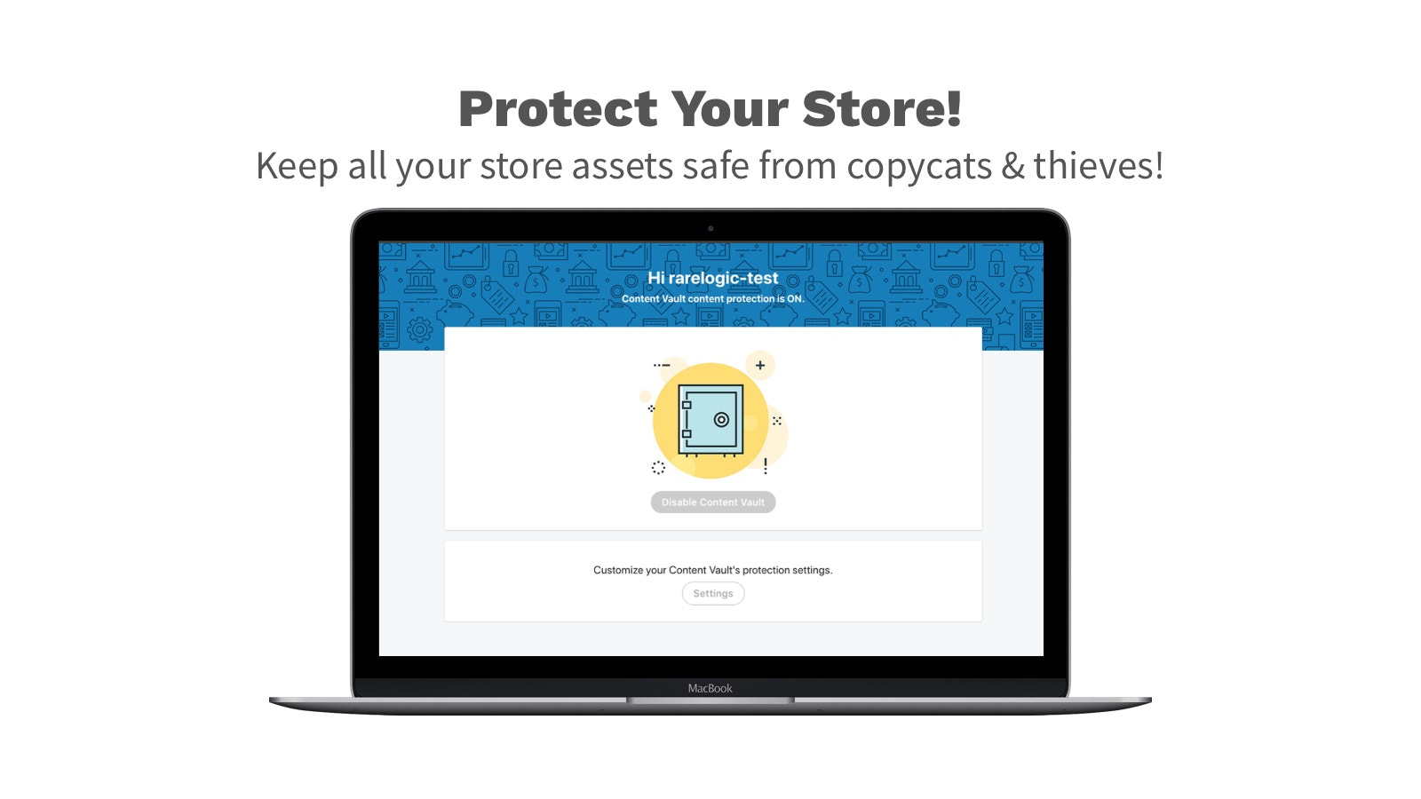 Protect Your Store - keep images safe from content theives