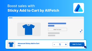 Boost sales with sticky add to cart