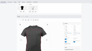 Set up your product templates with our Product Builder.