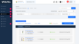 Real Time Shipment Tracking