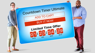 Countdown Timer Ultimate KILATECH on the product page