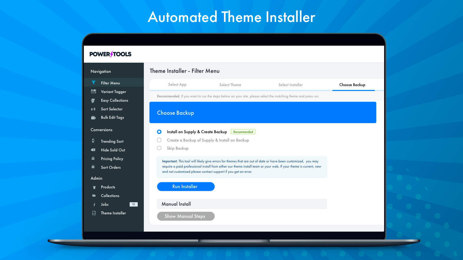 Automated Theme Installer