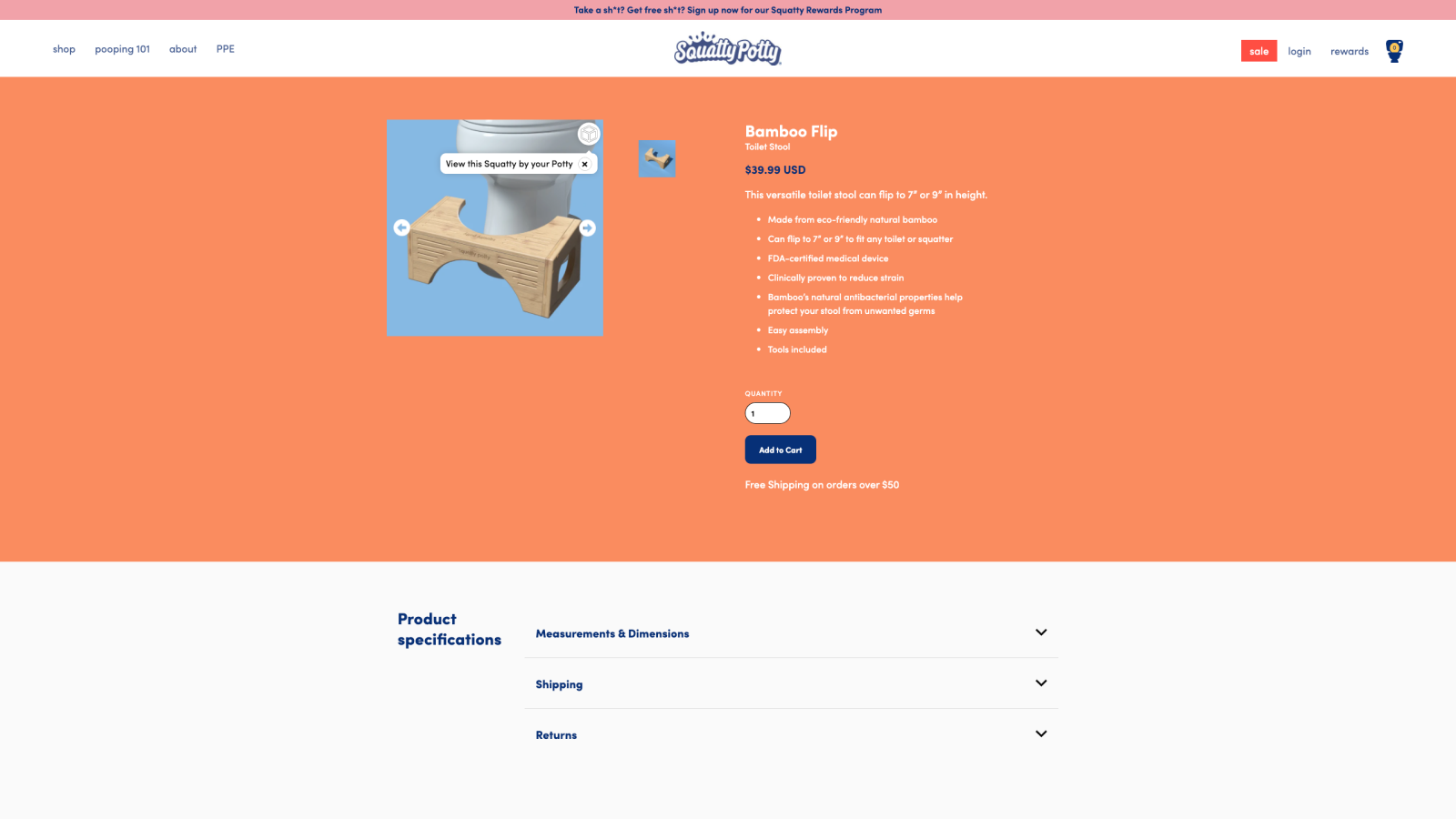 Embed your 3D content on your storefront