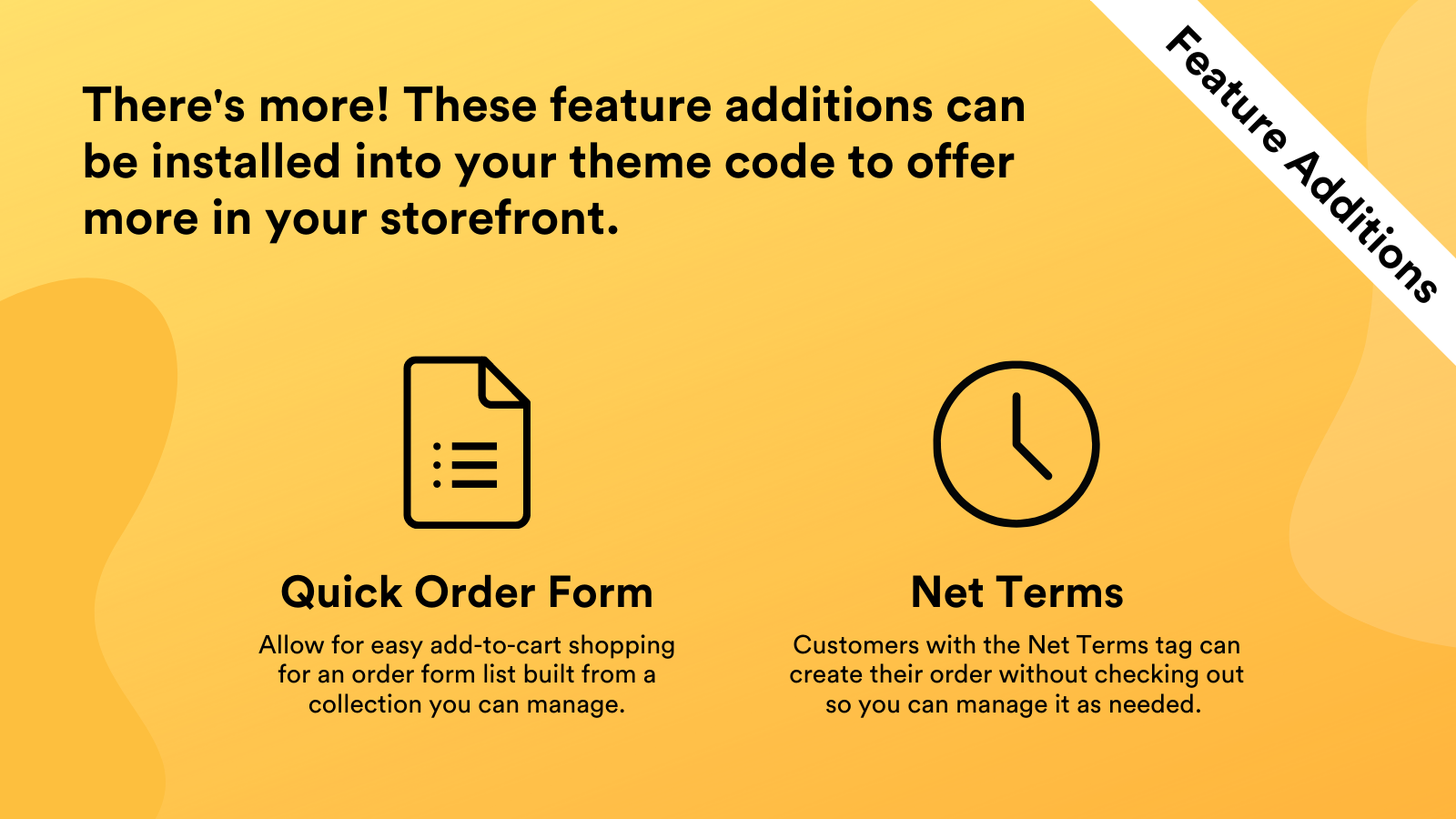 These two feature additions can be added your theme code