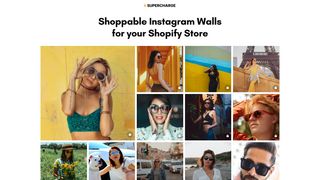 Shoppable Instagram Walls by Supercharge