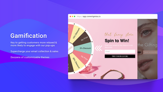 Convert Genius Popups - Gamification - Spin to Win
