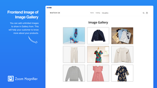 Image Gallery On front-end
