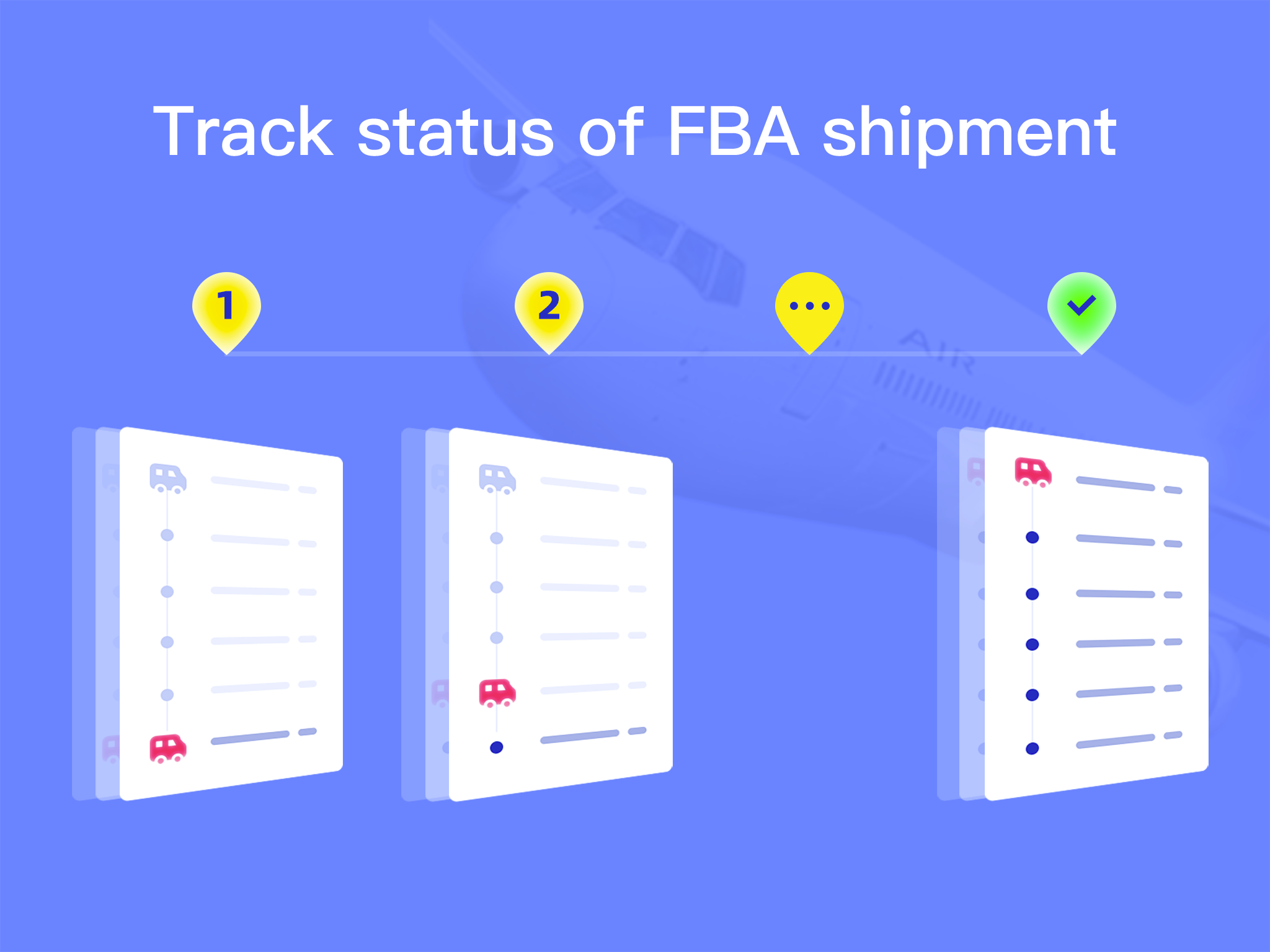 Track every step of the shipping process