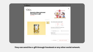 Share the gift on social networks