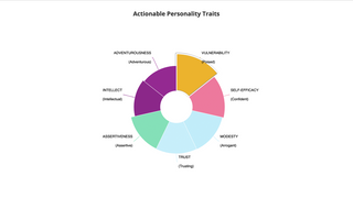 Actionable Personality Traits (top 7)