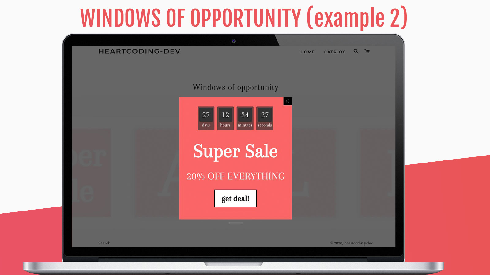 Sale Campaign opened clicked