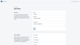 Create filters that match the specifics of your workflow