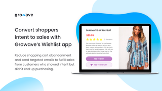 Wishlist for increasing user engagement and sales