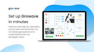 Process of setting up the Growave