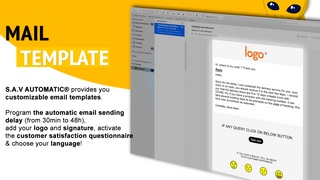 Email template of customer service