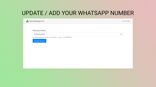 WhatsApp Sticky Icon for Customer Support