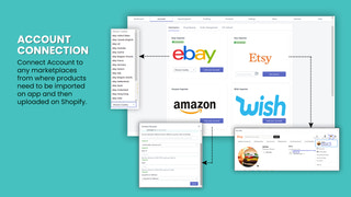 Aliexpress amazon importer eBay Wish Importer Etsy importer