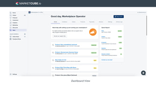 Marketplace Operator Dashboard view