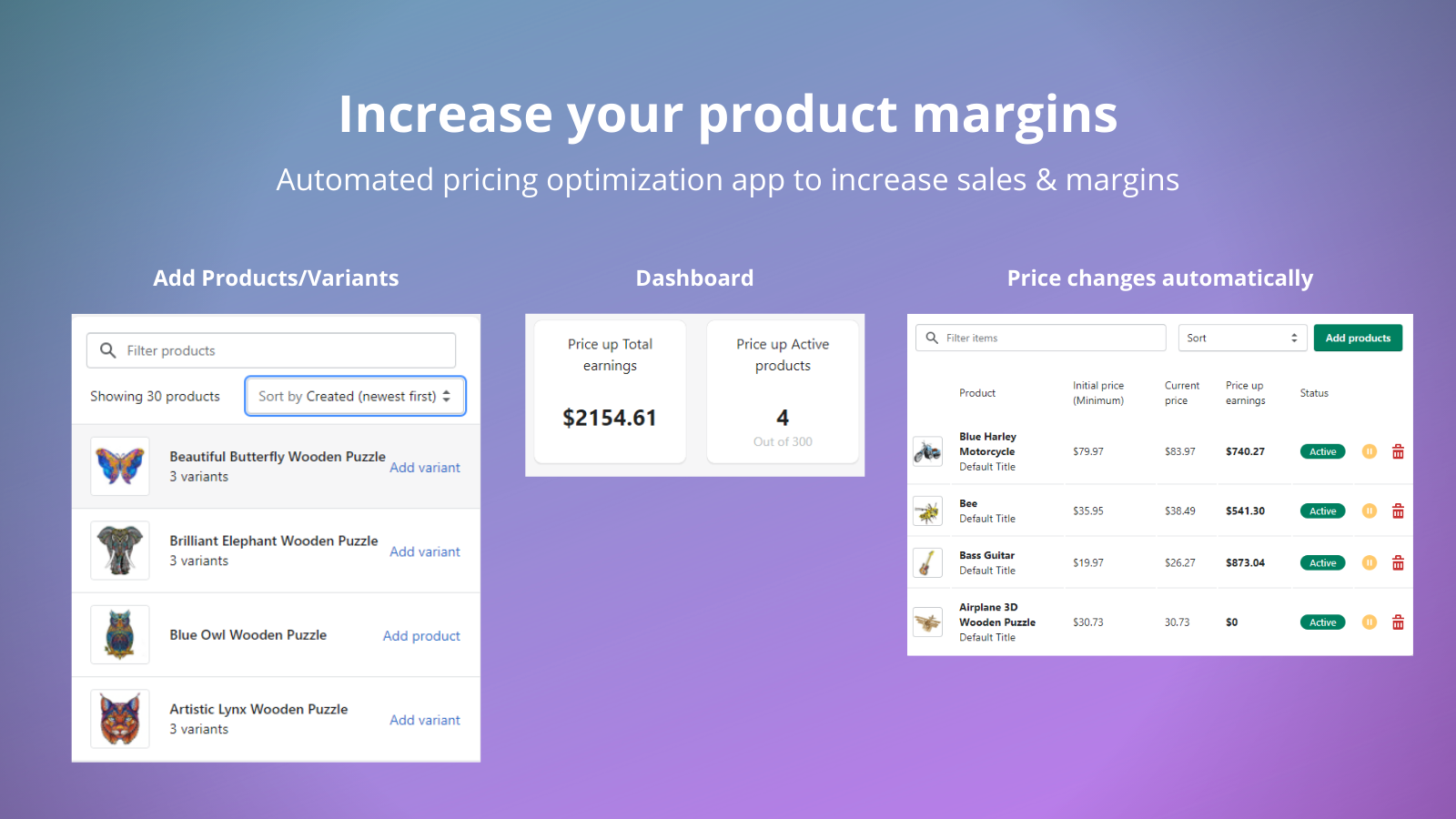 Increase your product margins