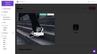 Tag user-generated content with your products
