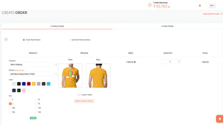 Create an order manually on Printrove