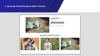 Recently viewed products Slider Preview