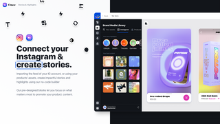 Connect to Instagram and Create stories in our no-code builder