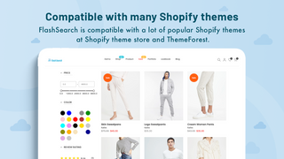 Compatible with all Shopify themes (Supported Online Store 2.0)