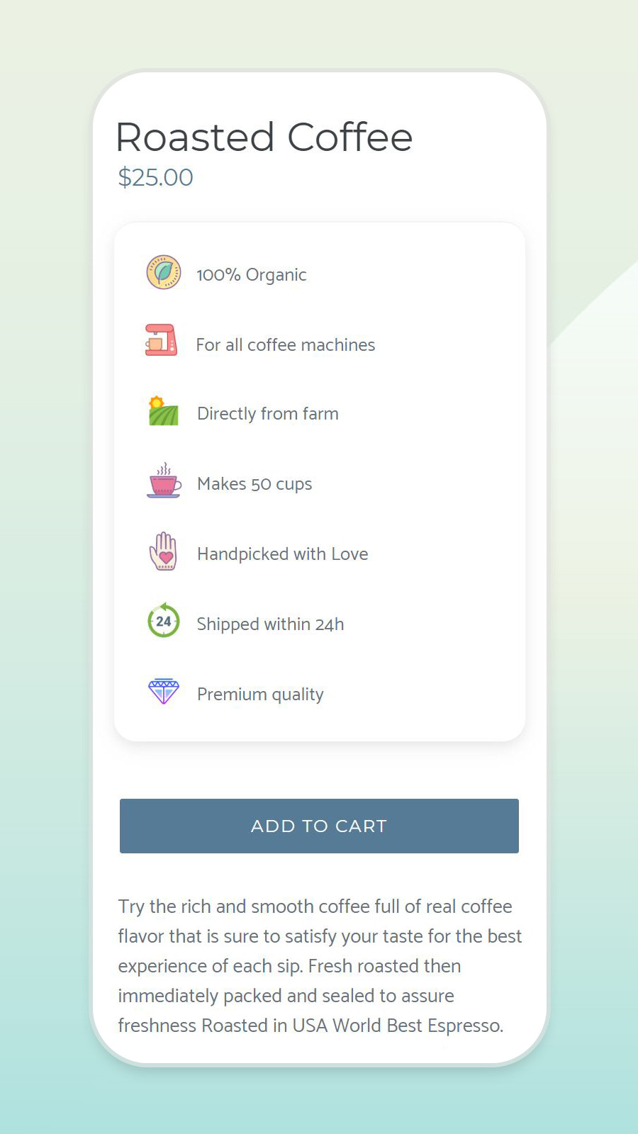 Amazing Product Descriptions on Mobile Devices