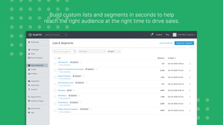 Build Custom Lists and Segments in Seconds