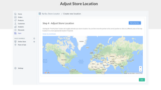 Add Location to Store