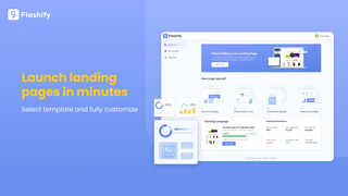 Launch landing pages in minutes