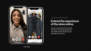 Extend the experience of the store online