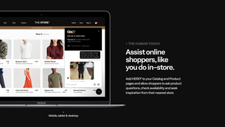 Assist online shoppers like you do in-store